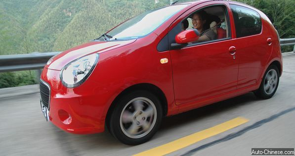 Geely LC  (Panda) Review and Road Test (5)