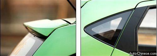 CHANA BENNI Flow Board&Triangular Rear Window -Auto-Chinese.com