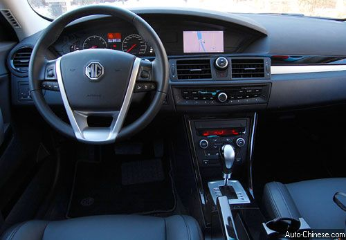 MG6 Interior Trim Overview