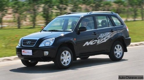 Chery Tiggo 3 Model 2009 Review and Test Drive (4)