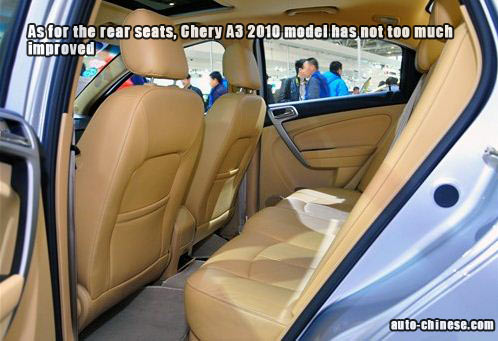 Rear Seat has not too much improved