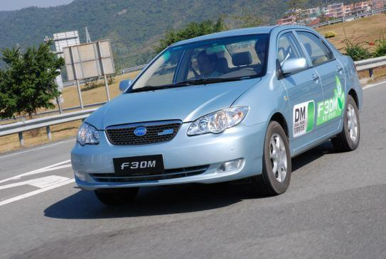 BYD F3DM Low Carbon Model