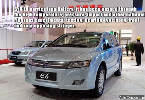 BYD Pure EV E6 World's most powerful cruising ability in Mass Production