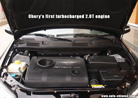Chery's first turbocharged engine