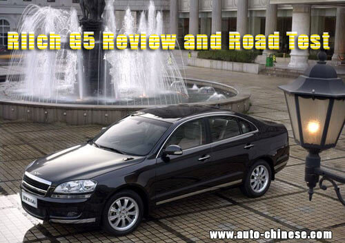 Chery Riich G6 Review and Road Test