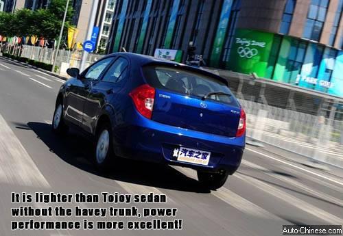 Tojoy Hatchback Road Test