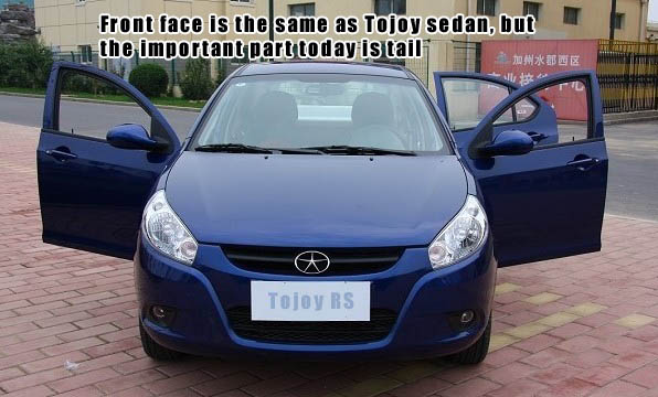 JAC Tojoy RS Hatchback Review and Road Test – Appearance
