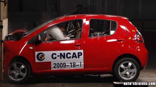 Geely Panda Crash Test