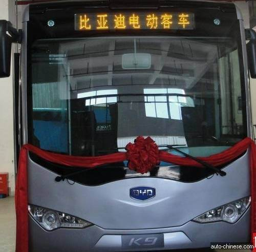 BYD K9 pure electric bus