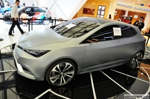 MG5 Concept Vehicle