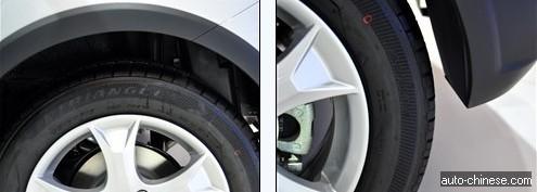 Tyre Spec of C20R