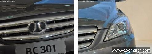 China's Benz B Class?