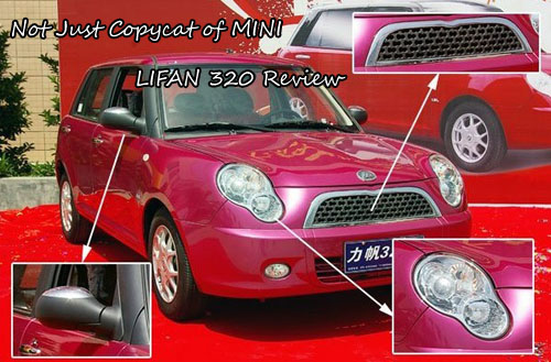 LIFAN 320 Heand Face