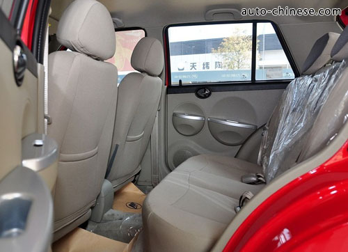 Lifan 320 - Interior Space