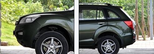 Lifan X60 SUV Detail