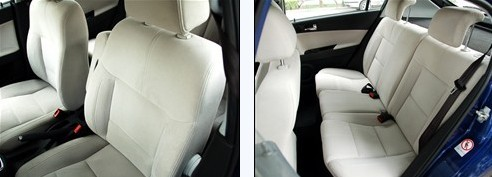 Brilliance FRV - Cabin Space