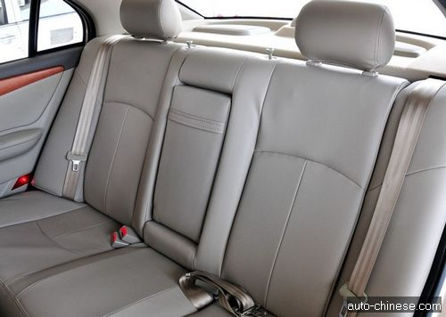 Lifan 620 Interior| Rear Seats