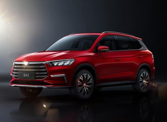 BYD New Compact SUV SA2 Unveiled