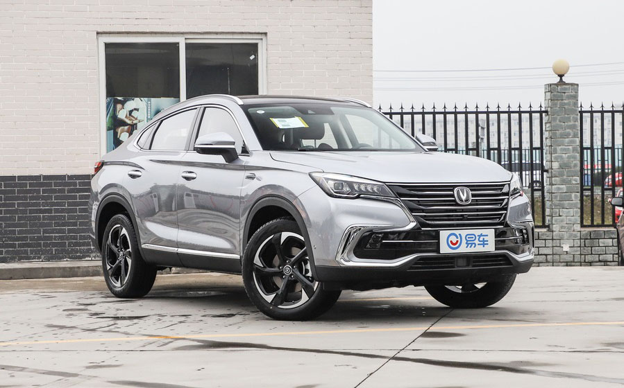 CHANGAN AUTO's Coupe SUV CS85 is ready in market|CS85-Coupe Review