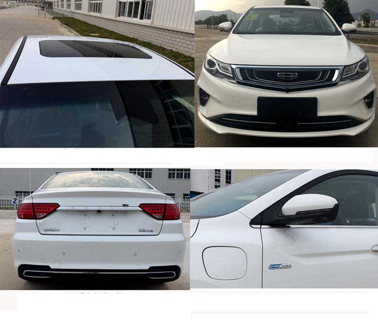 Geely Emgrand GL Will Release PHEV Version