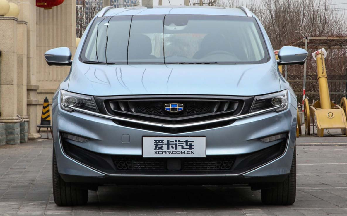 Geely's First MPV Jiaji is ready in market, including PHEV, Mild Hybrid and Feul Models
