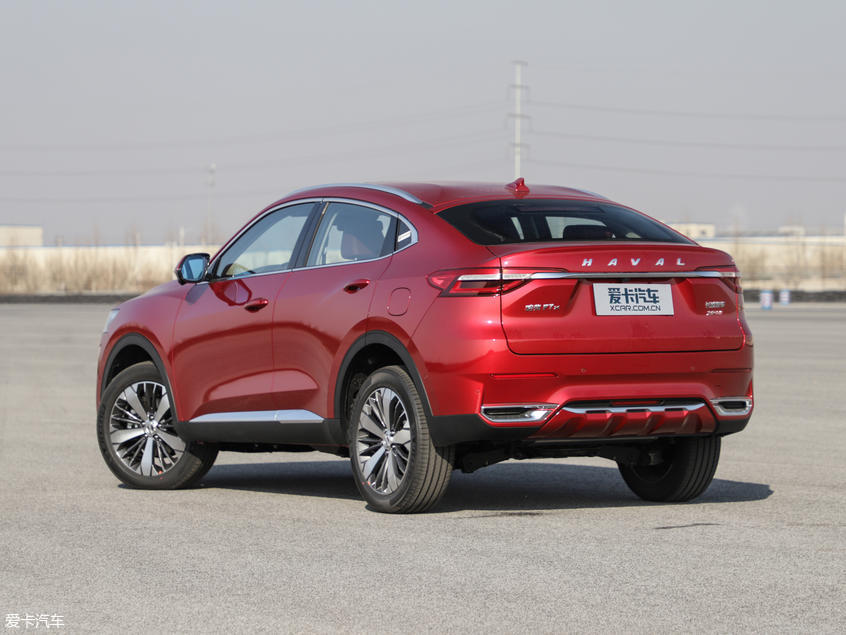 Haval's 1st Coupe SUV F7x is Almost Ready in China Market