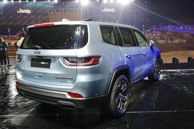 Jeep Commander will Release PHEV model in China Market