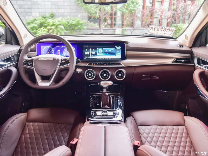 Chinese Maserati: Mattu from Leopaard Motors, front face of Leavante + BMW Power + Benz Interior