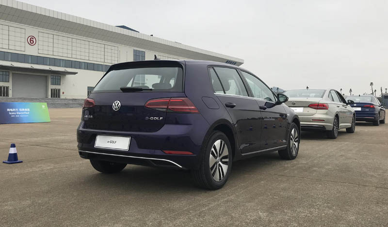 Volkswagen to Launch Golf EV in China Market, Range is 167miles