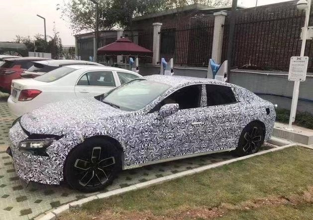 Xpeng's Coupe Model Spy Photos Exposed, Another Chinese EV model against Tesla Model 3?