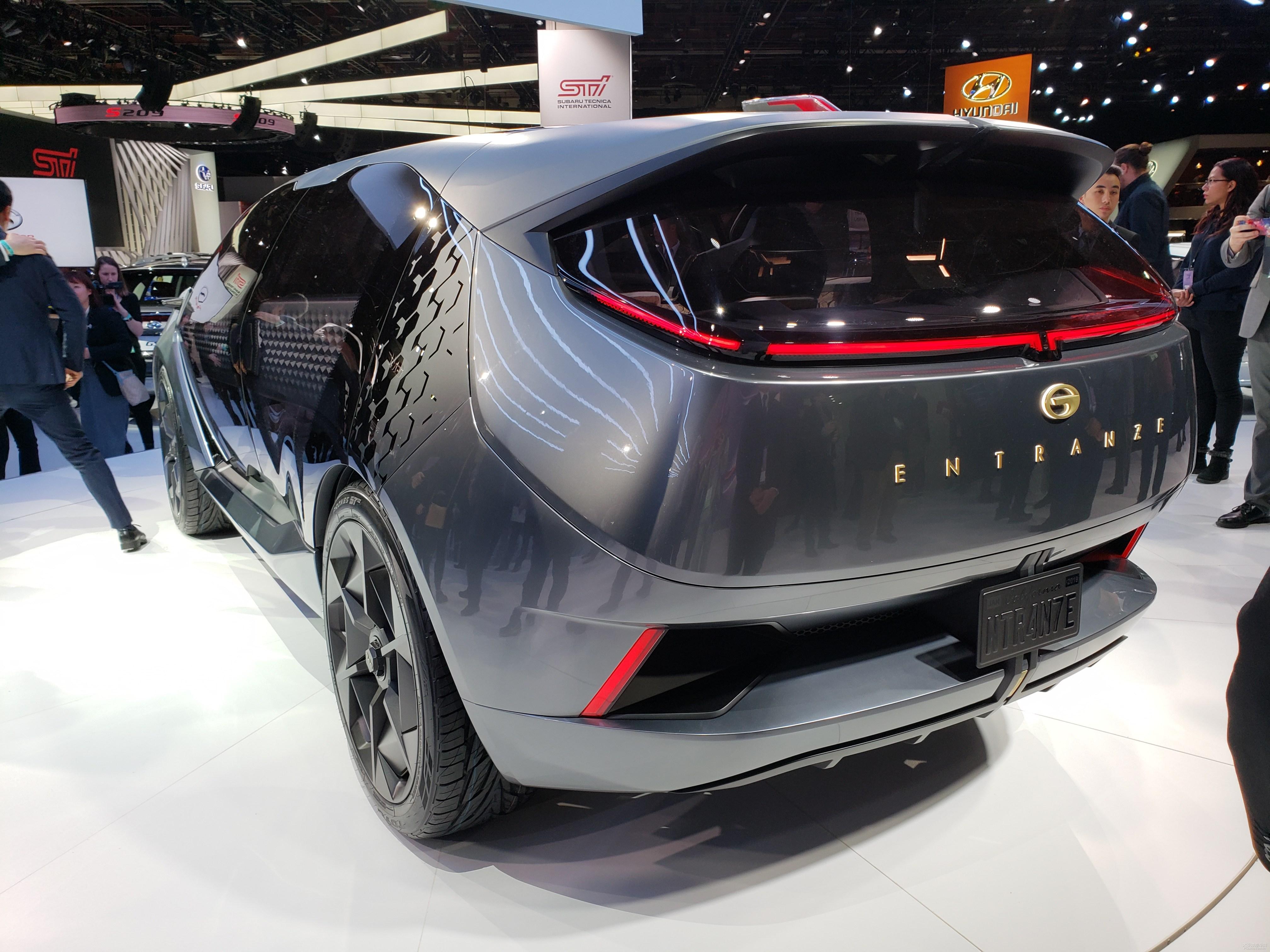 Spy Photo for New Trumpchi GA6, to Debut on 2019 Shanghai Auto Show as well as ENTRANZE Concept Car