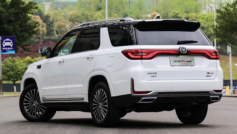Review: 2019 CHANGAN CS95 Test Drive - New Flagship SUV Model from Changan Auto