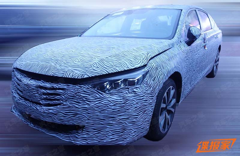 Spy Photo for New Trumpchi GA6, to Debut on 2019 Shanghai Auto Show as well as ENTRANZE Concept Car