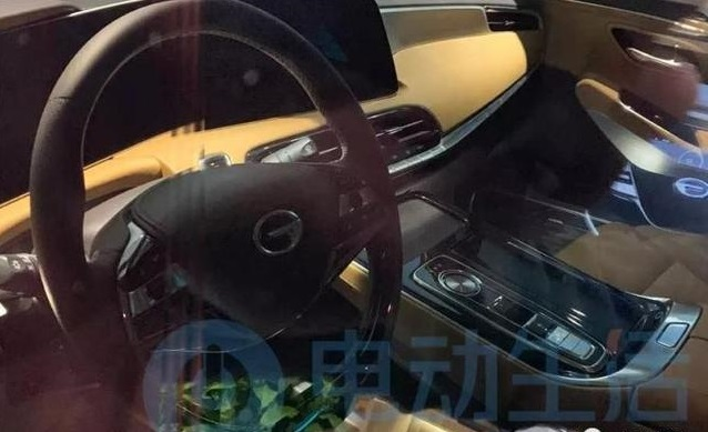 GAC Exposed Interior of Aion LX, the 1st Electric SUV from GAC New Energy