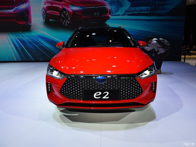 BYD Released All-New EV BYD e2, an Entry-level Compact Hatchback Crossover