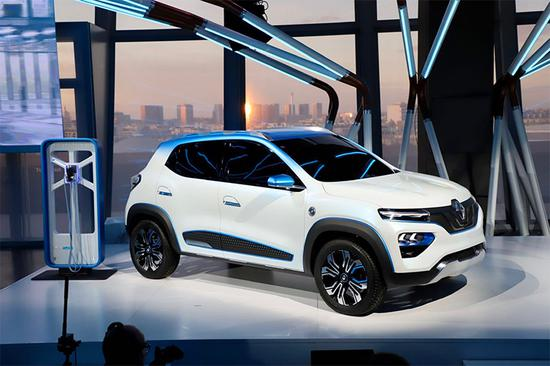 Dongfeng-Renault K-ZE Unveiled in China as An All-Electric Compact SUV