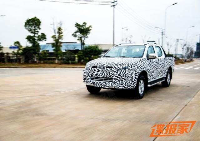 Spy Photos for Facelift ISUZU D-MAX, to Luanch in China Market soon