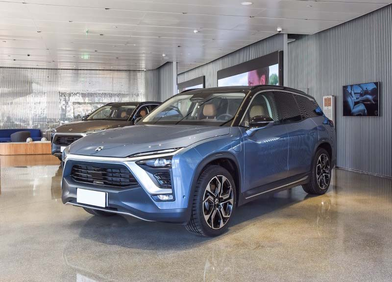 NIO Start to Hand Over ES8 6-Seater Version in China in 2019