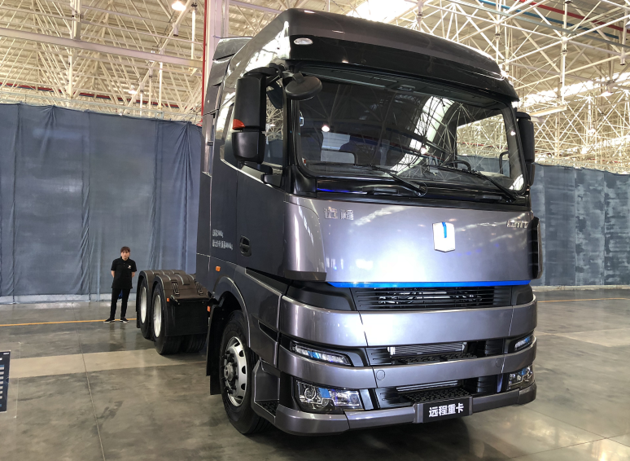 World's First: Geely Luanched Yuan Cheng M100 Methanol Heavy Truck, Lifetime up to 620,000 miles, Price Starts at 353,000 yuan