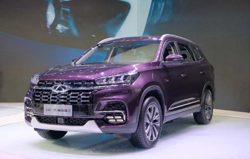 Facelift 2019 Chery Tiggo 8 Released at 2019 Shanghai Auto Show and Started Pre-sale, Price Starts at 119,000yuan