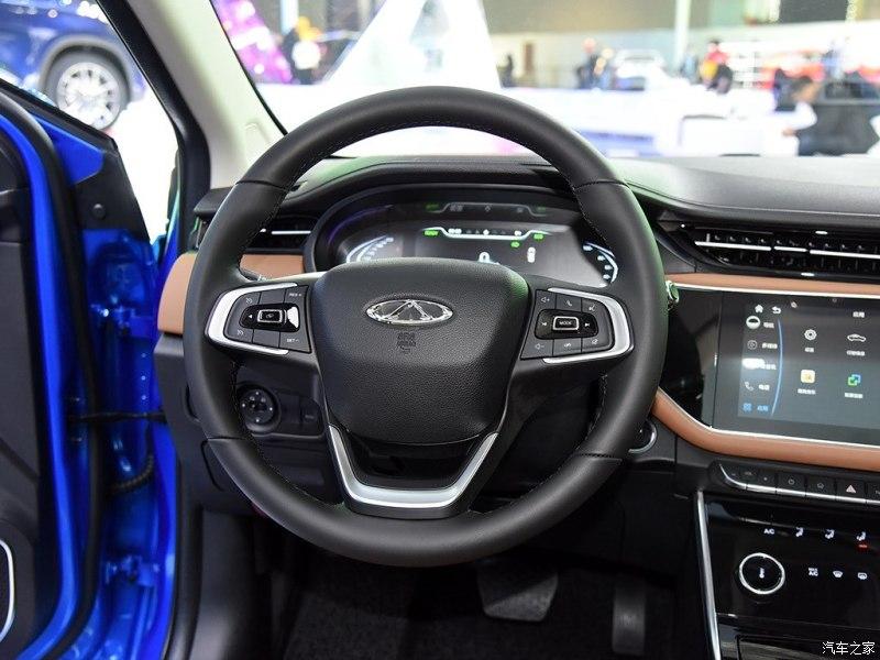 Facelift Chery Arrizo 5e EV Debuted At 2019 Shanghai Auto Show
