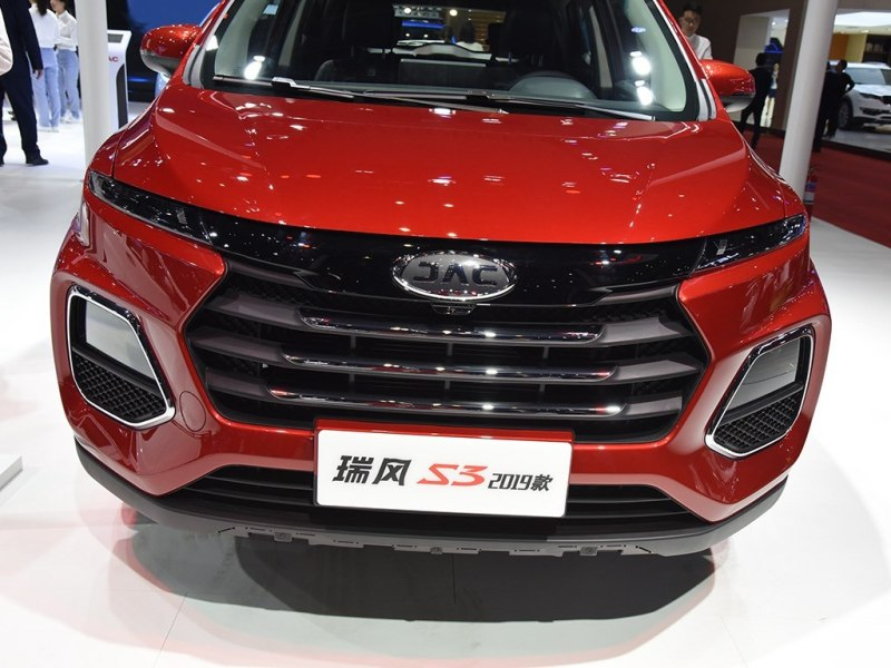 Facelifted: JAC Motors Released 2019 JAC Refine S3  At 2019 Shanghai Auto Show