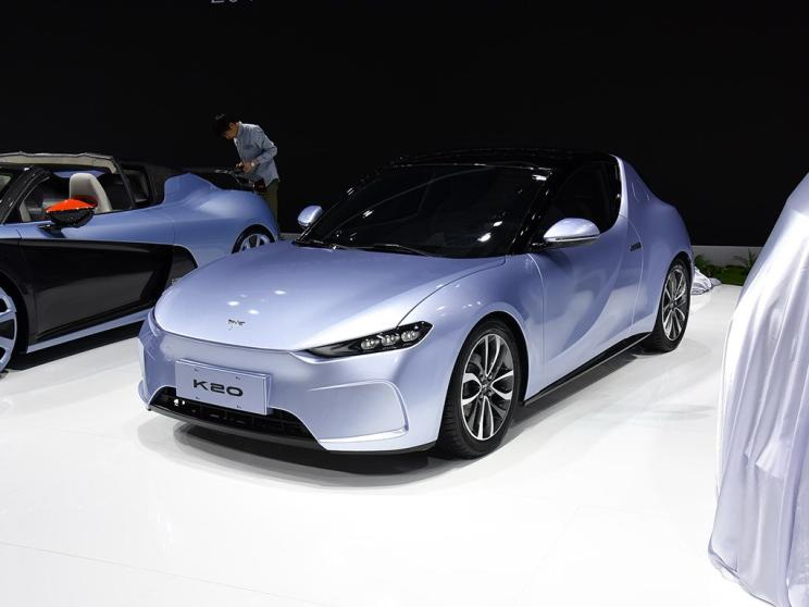 This is Qiantu K20 All-Electric Coupe Unveiled on 2019 Shanghai Auto Show