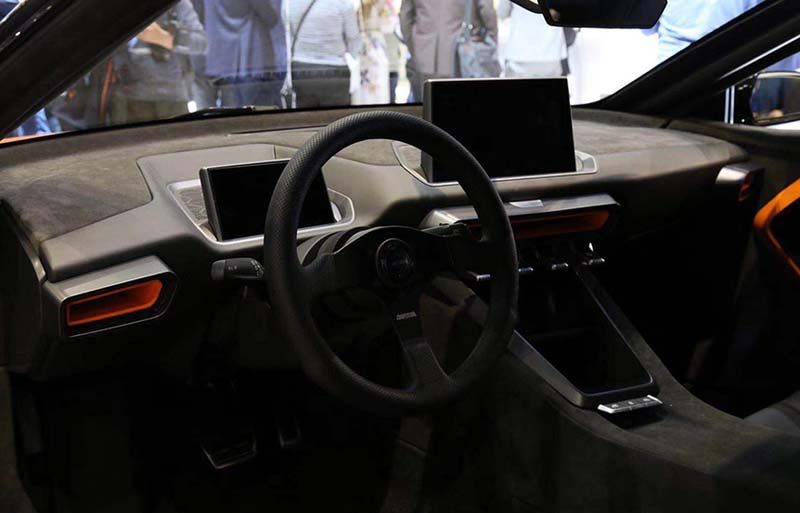 AIWAYS Auto Brought the Electric Sports Car Gumpert Nathalie on 2019 Shanghai Auto Show