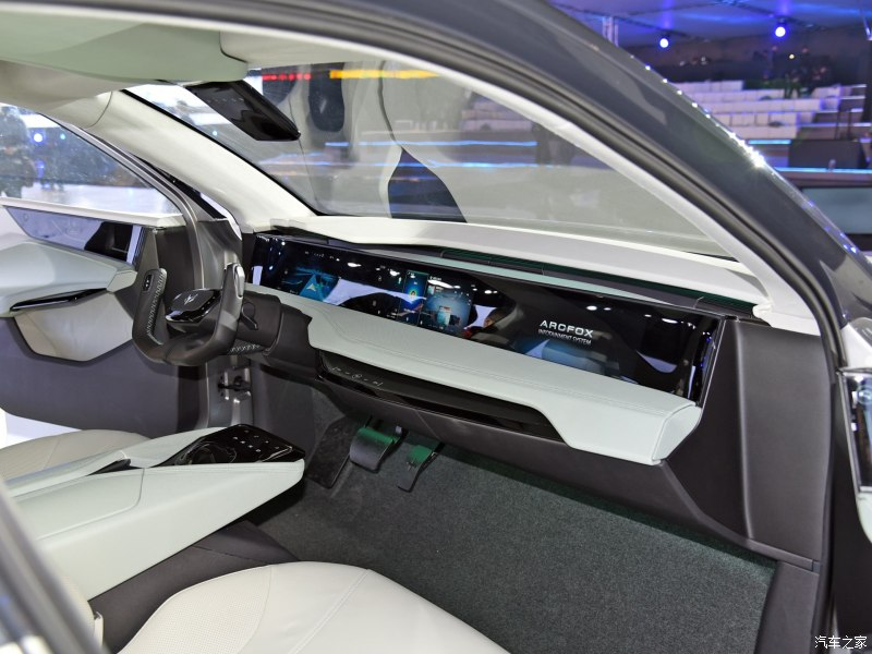 ARCFOX Debuted Its 1st All-Electric SUV Model ARCFOX ECF in 2019 Shanghai Auto Show, Range up to 372miles