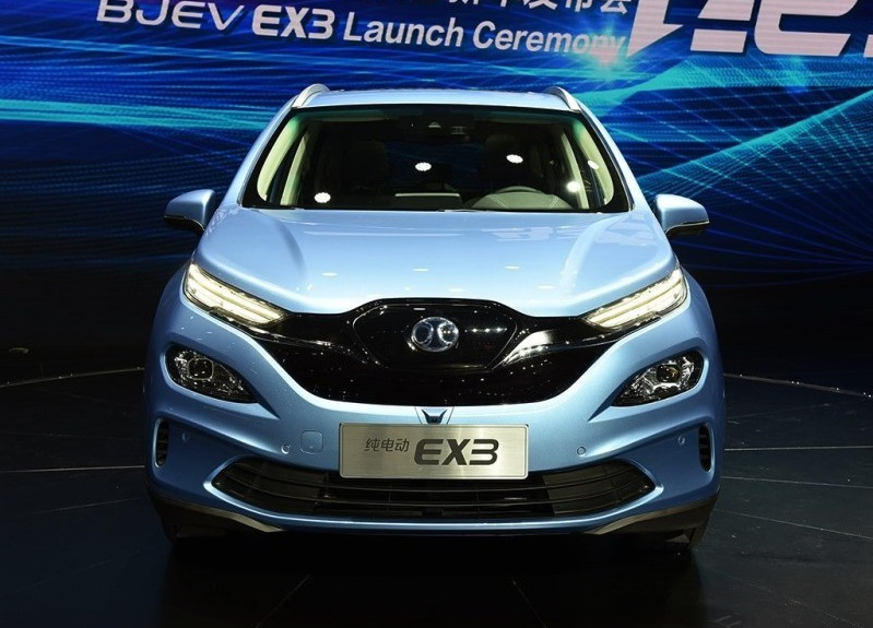 BAIC BEIJING EX3 R500 launched with pricing from 119,900 yuan