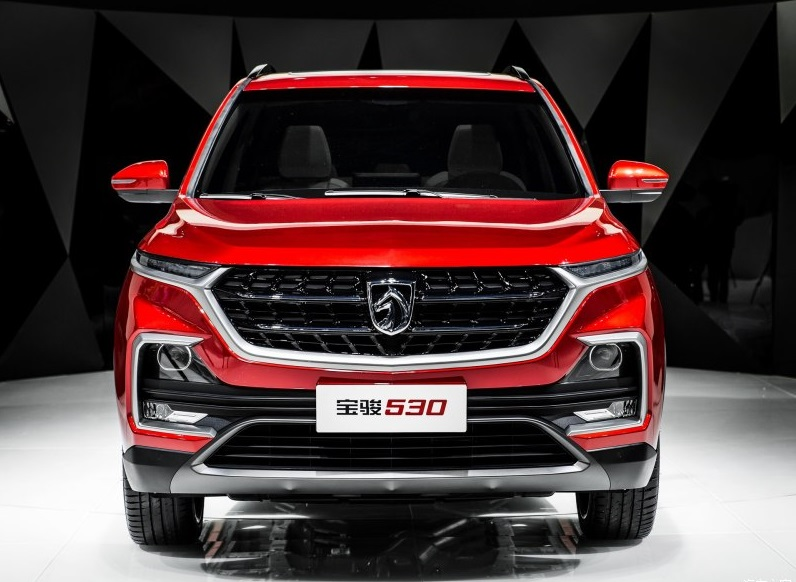 Re-Badged Baojun 530 Set Off to Export to Mid&East Countries