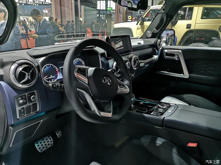 BAIC Launched Beijing Brand & Off-Road Vehicle BJ40 City Hunter Edition At 2019 Shanghai Auto Show
