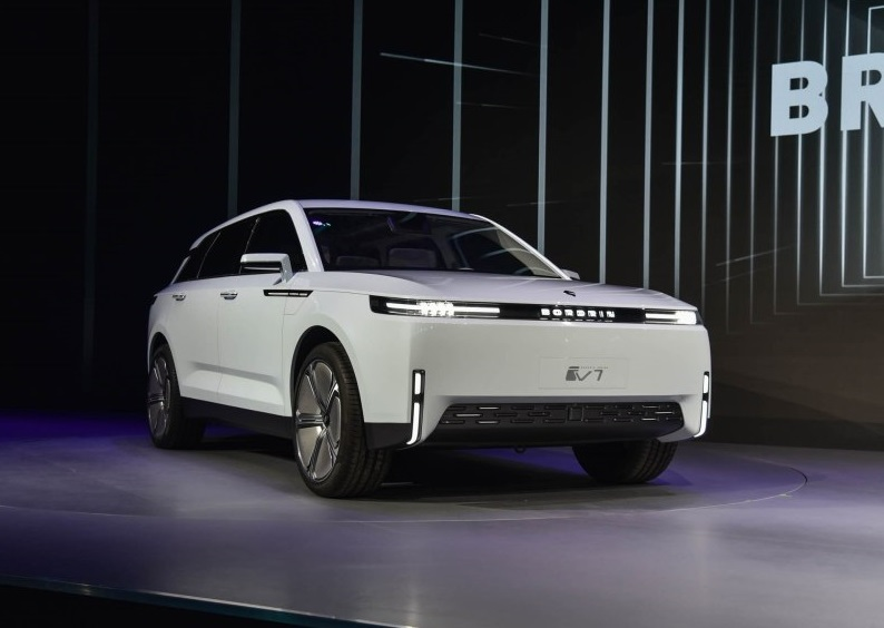 Bordrin Motors Debuted Its Large Size All Electric SUV Bordrin iV7, Range up to 434miles
