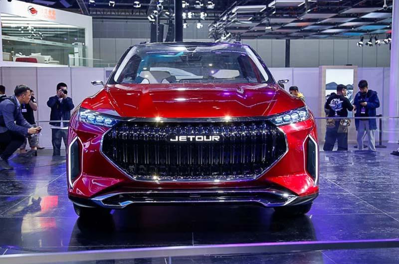 Chery Auto Unveiled New Version Jetour X Concept Car At 2019 Shanghai Auto Show